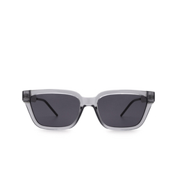 Gucci® Sunglasses: GG0975S color Transparent Grey 001.