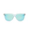 Gucci® Square Sunglasses: GG0976S color Light Blue 003 - product thumbnail 1/3.