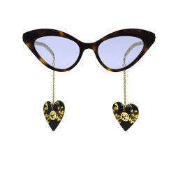 Gucci® Sunglasses: GG0978S color Havana 003.