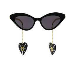 Gucci® Sunglasses: GG0978S color Black 004.
