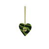 Gucci® Cat-eye Sunglasses: GG0978S color Green & Black 006 - product thumbnail 4/4.