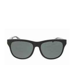Gucci® Square Sunglasses: GG0980S color Black 001.