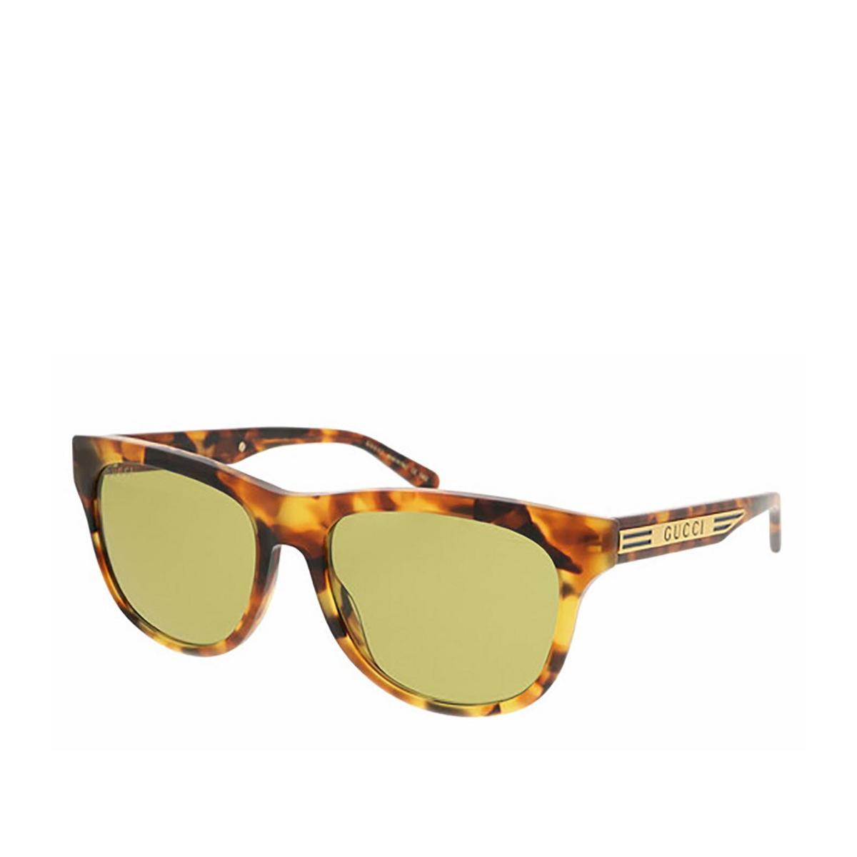Gucci® Square Sunglasses: GG0980S color Havana 003 - 2/2.