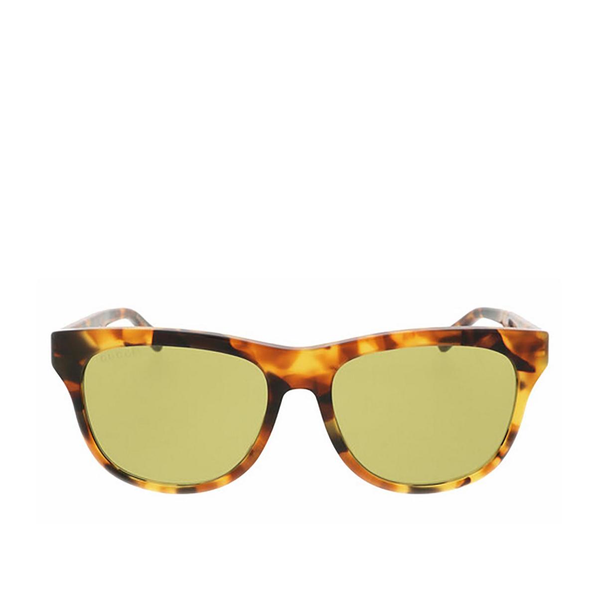 Gucci® Square Sunglasses: GG0980S color Havana 003 - 1/2.