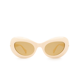 Gucci® Oval Sunglasses: GG0990S color White 001.