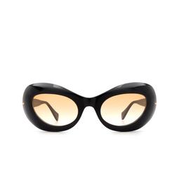 Gucci® Oval Sunglasses: GG0990S color Black 003.