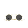 Gucci® Round Sunglasses: GG0991S color Gold 002 - product thumbnail 1/3.