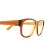 Gucci® Square Sunglasses: GG0996S color Havana 002 - product thumbnail 3/3.