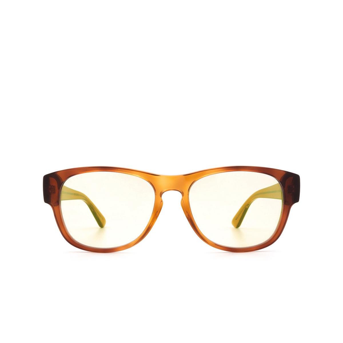 Gucci® Square Sunglasses: GG0996S color Havana 002.