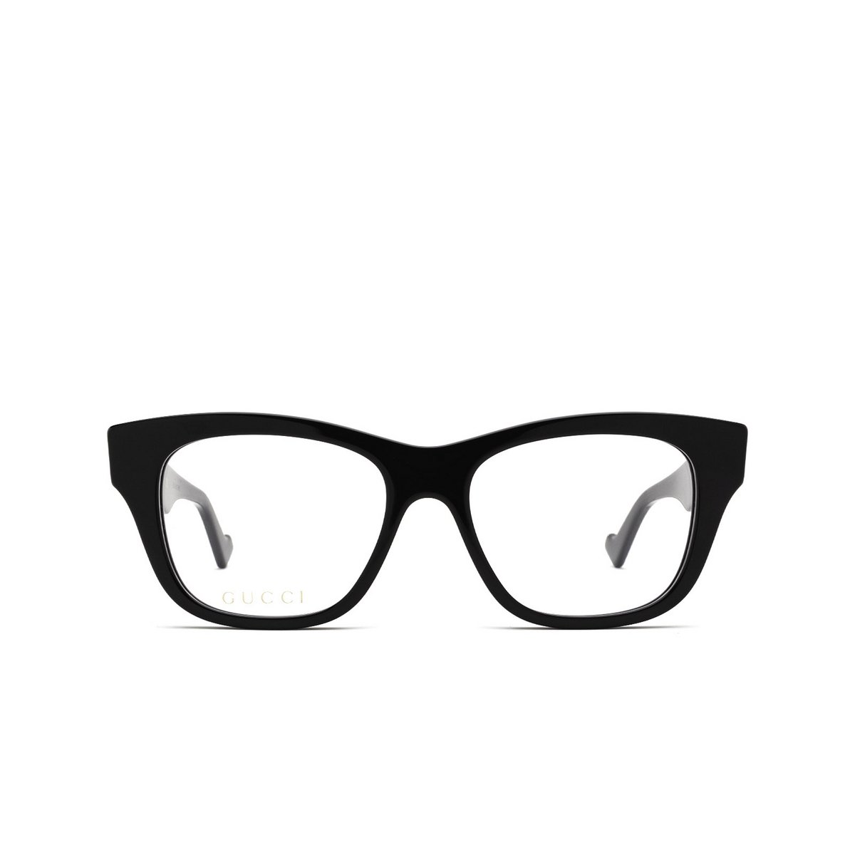 Gucci® Cat-eye Eyeglasses: GG0999O color Black 001 - front view.