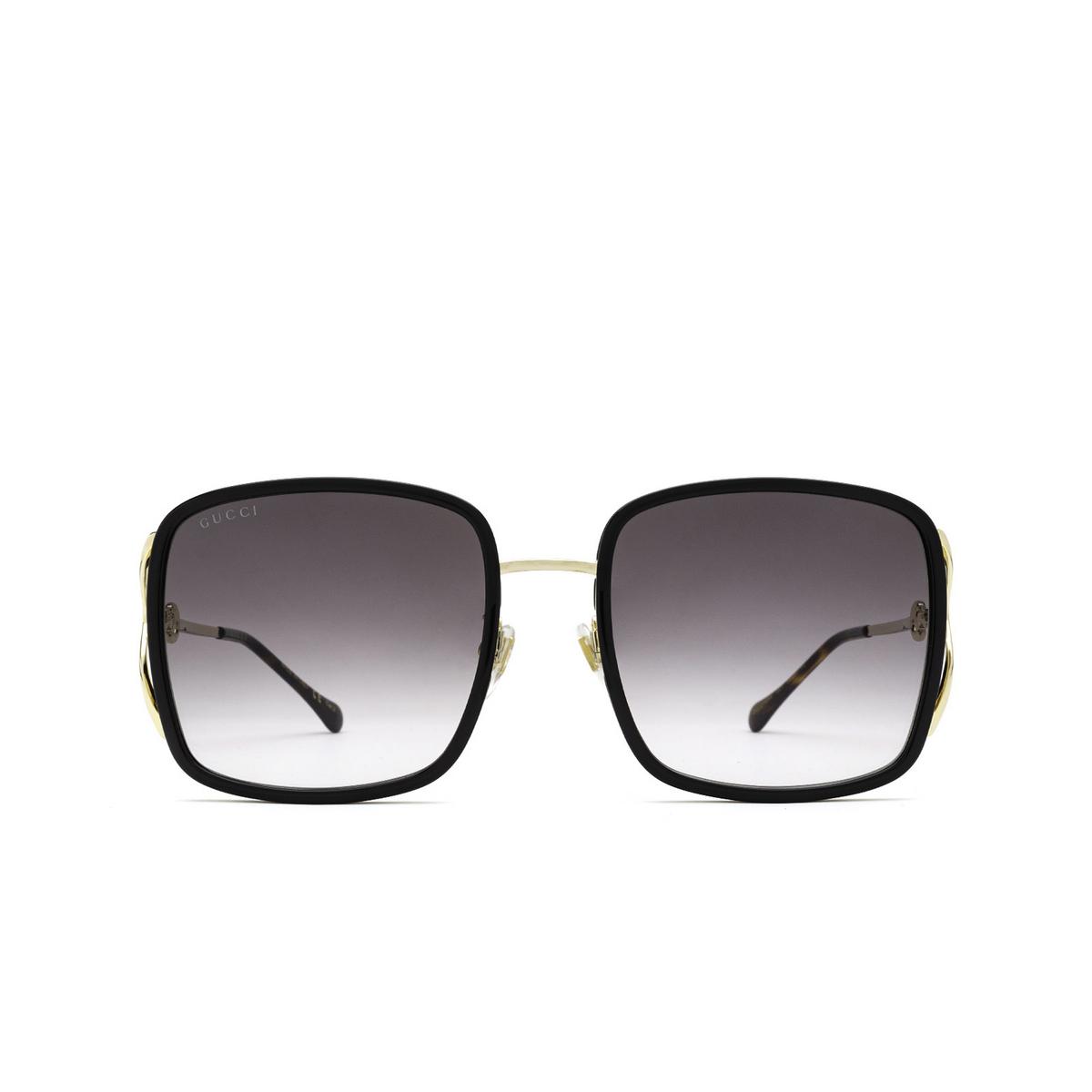 Gucci® Square Sunglasses: GG1016SK color Black 001 - 1/3.