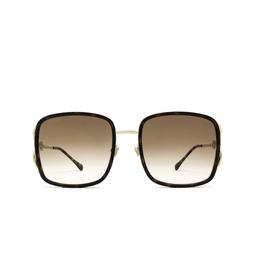 Gucci® Square Sunglasses: GG1016SK color Havana 003.