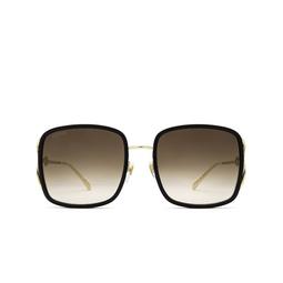 Gucci® Square Sunglasses: GG1016SK color Black 004.