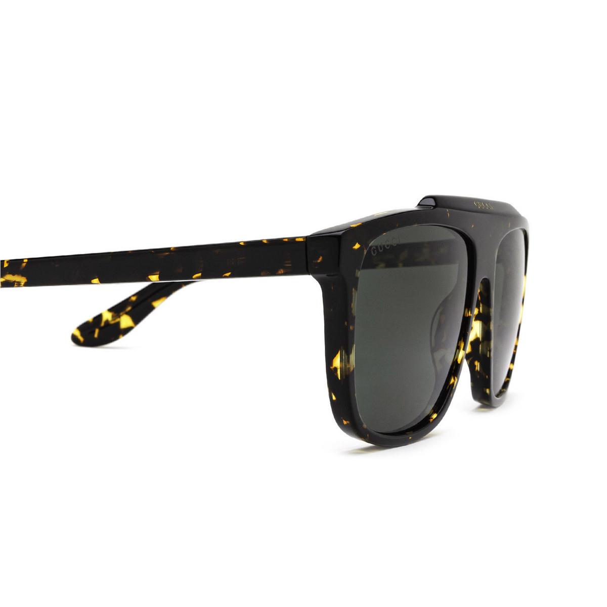 Gucci® Square Sunglasses: GG1039S color Havana 002 - 3/3.