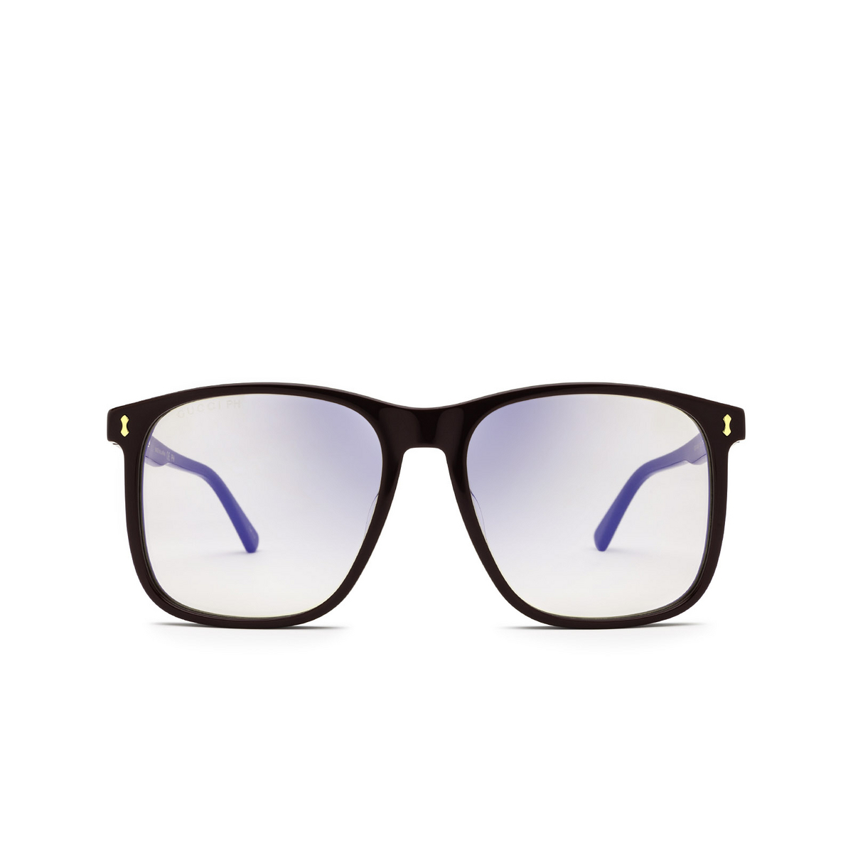 Gucci® Square Sunglasses: GG1041S color Burgundy 005 - front view.