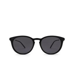 Gucci® Round Sunglasses: GG1048S color Black 001.
