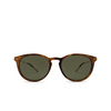 Gucci® Round Sunglasses: GG1048S color Havana 002 - product thumbnail 1/3.