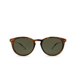 Gucci® Round Sunglasses: GG1048S color Havana 002.