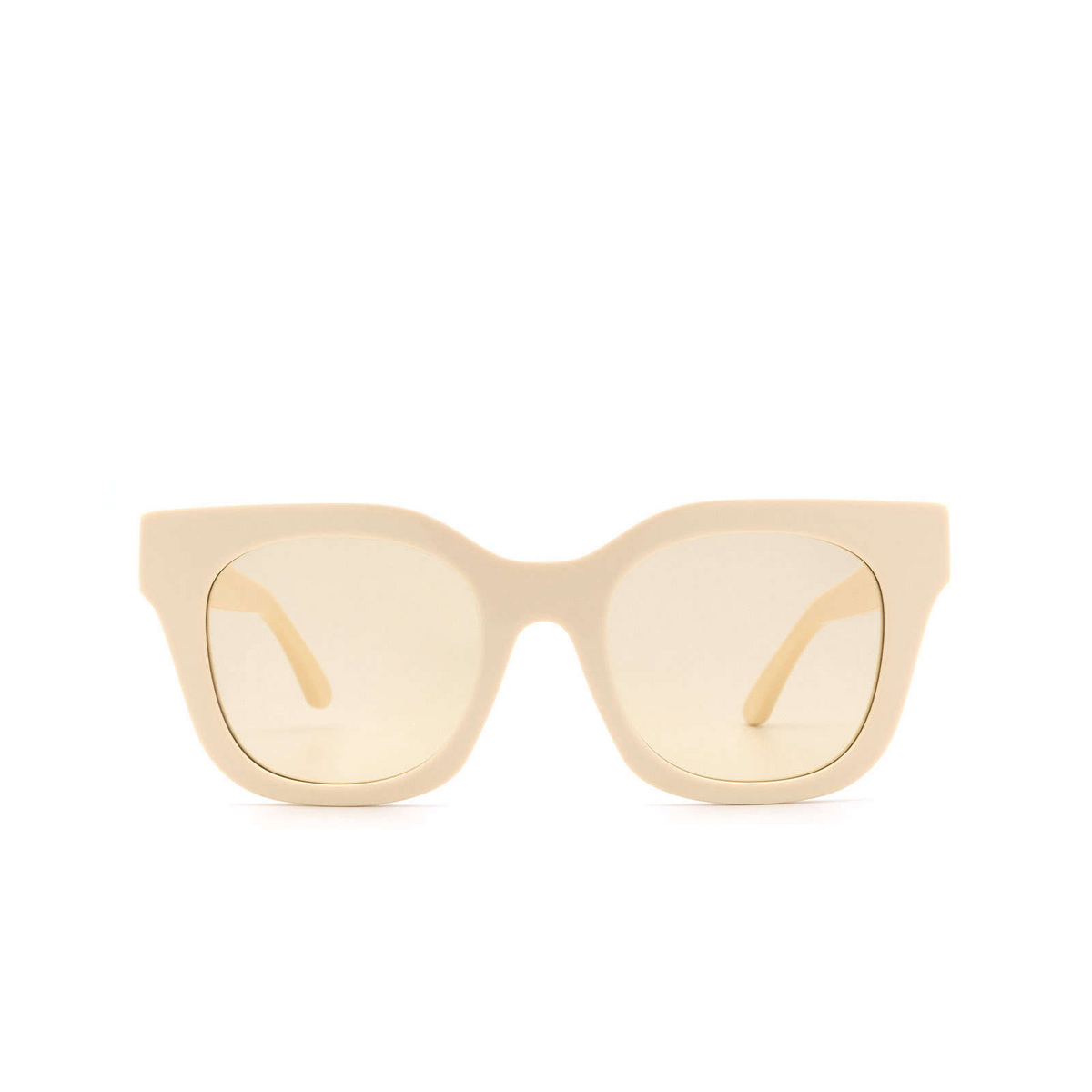 Huma® Square Sunglasses: Blue color Ivory 07 - front view.