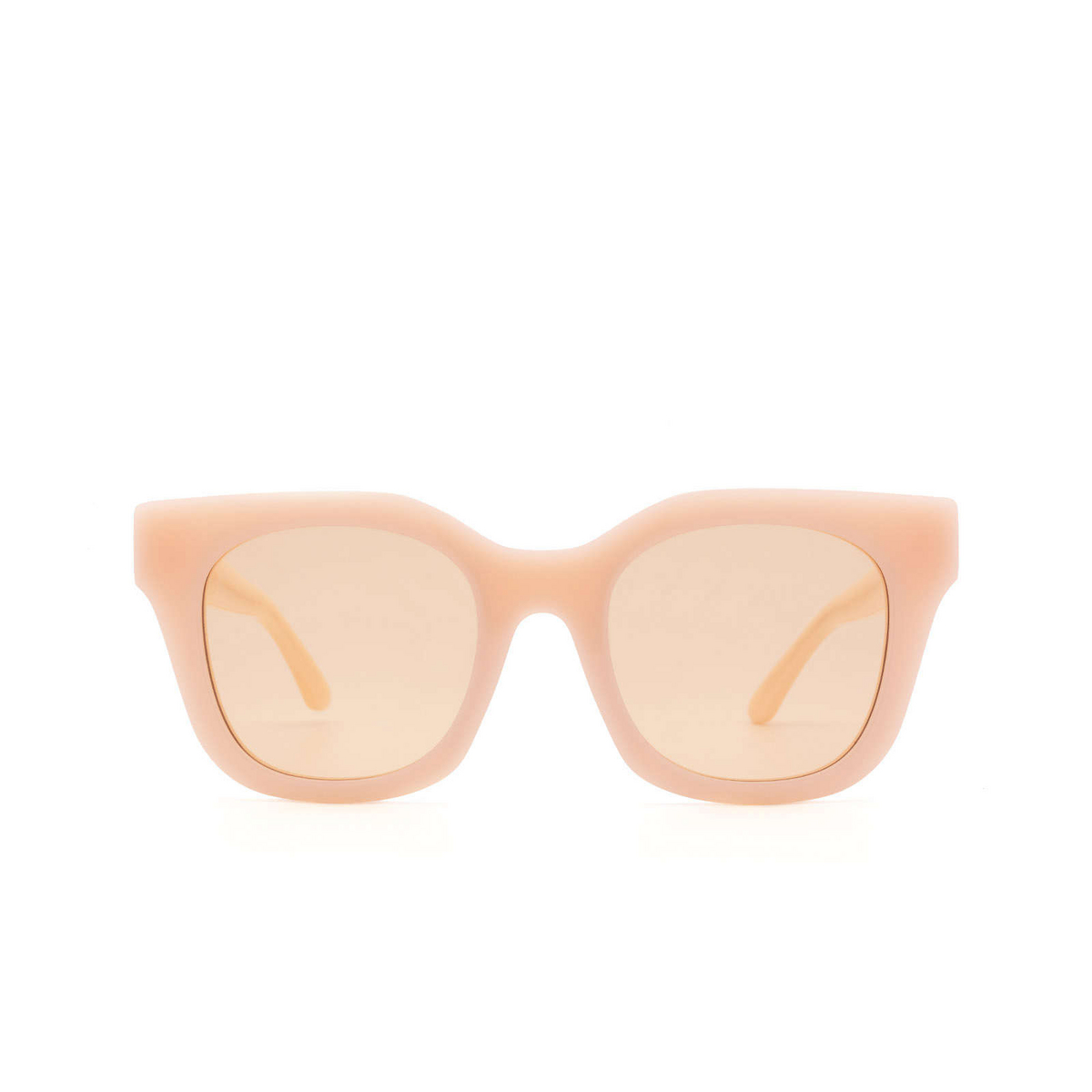 Huma® Square Sunglasses: Blue color Pink 11 - front view.