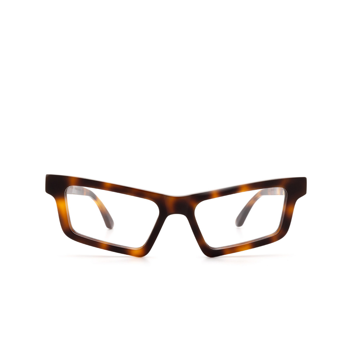 Huma® Cat-eye Eyeglasses: Dea color Havana 00V - front view.