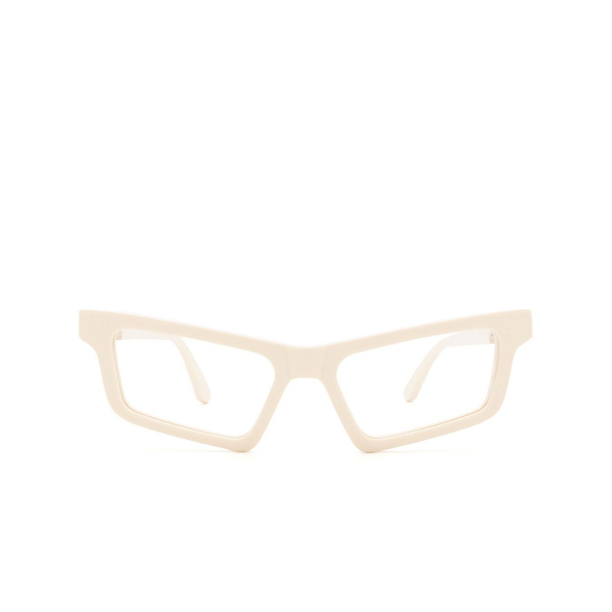 Huma® Cat-eye Eyeglasses: Dea color Ivory 07V - front view.