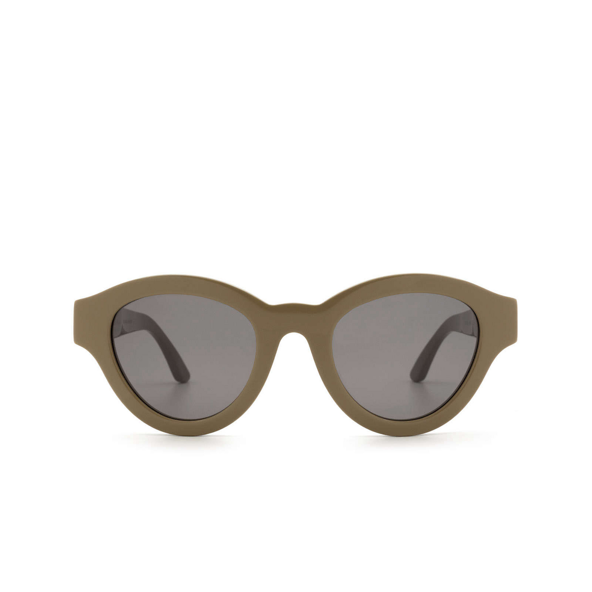 Huma® Cat-eye Sunglasses: Dug color Military 09 - front view.