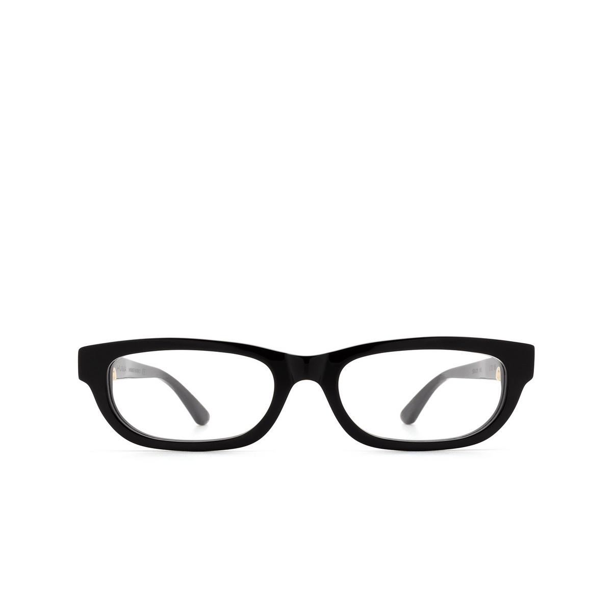Huma® Rectangle Eyeglasses: Lou color Black 06V - front view.