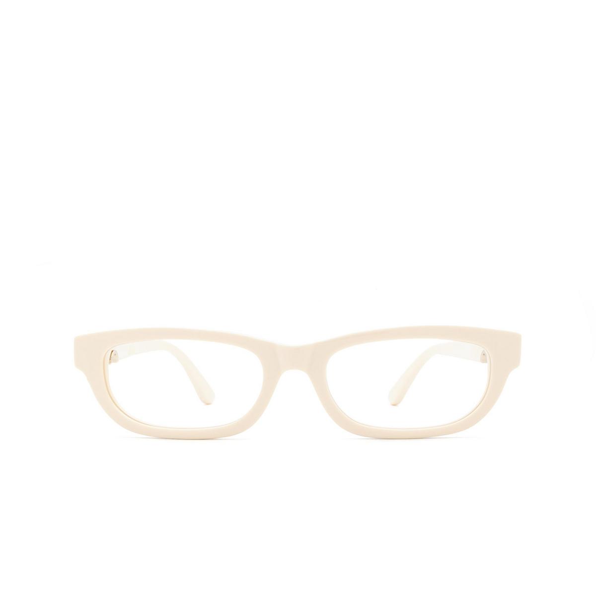 Huma® Rectangle Eyeglasses: Lou color Ivory 07V - front view.