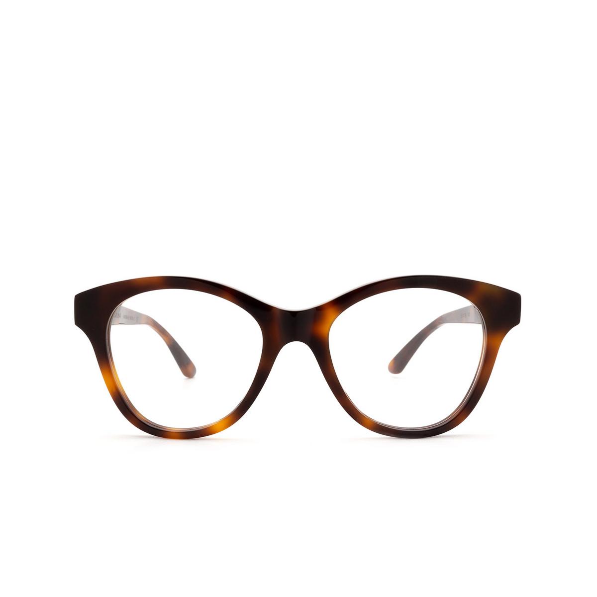 Huma® Cat-eye Eyeglasses: Mia color Havana 00V - front view.