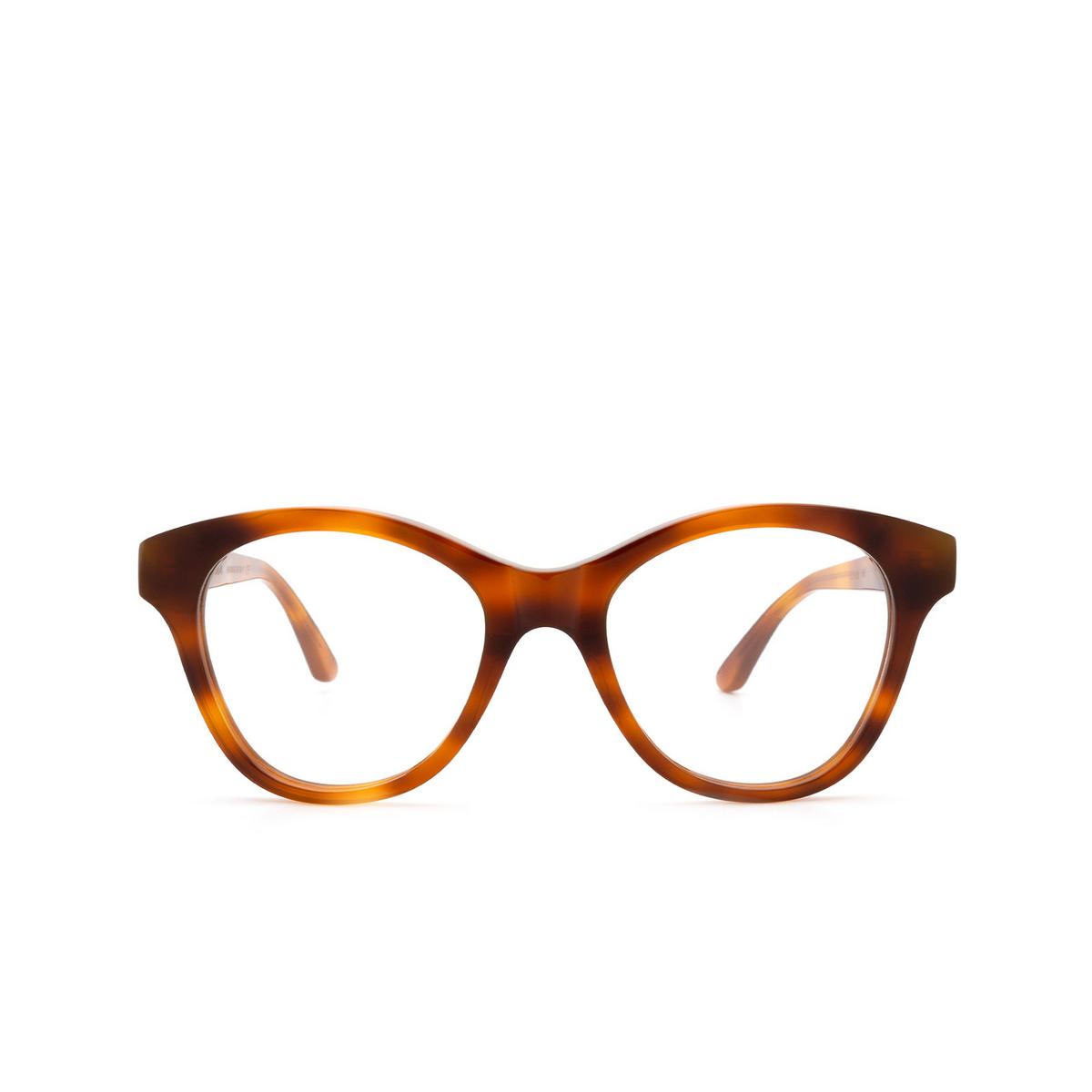 Huma® Cat-eye Eyeglasses: Mia color Light Havana 01V - front view.