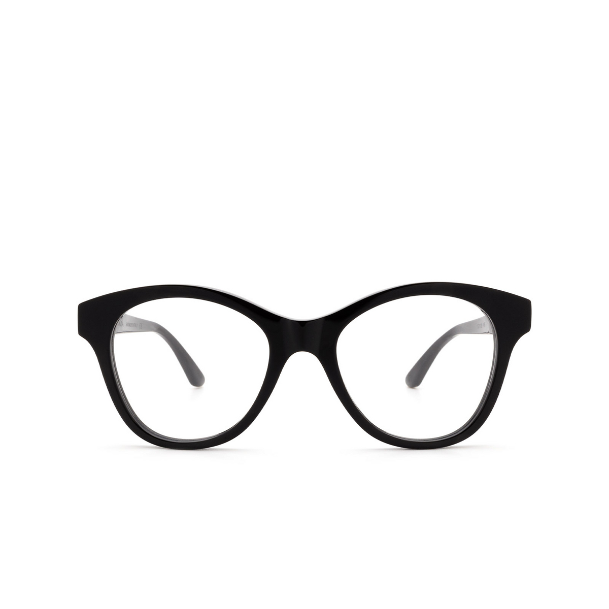 Huma® Cat-eye Eyeglasses: Mia color Black 06V - front view.