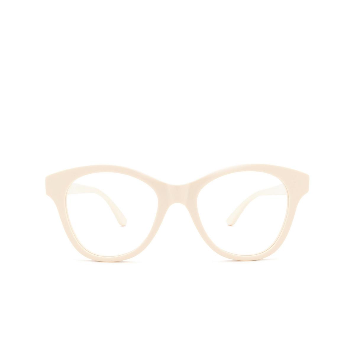 Huma® Cat-eye Eyeglasses: Mia color Ivory 07V - front view.