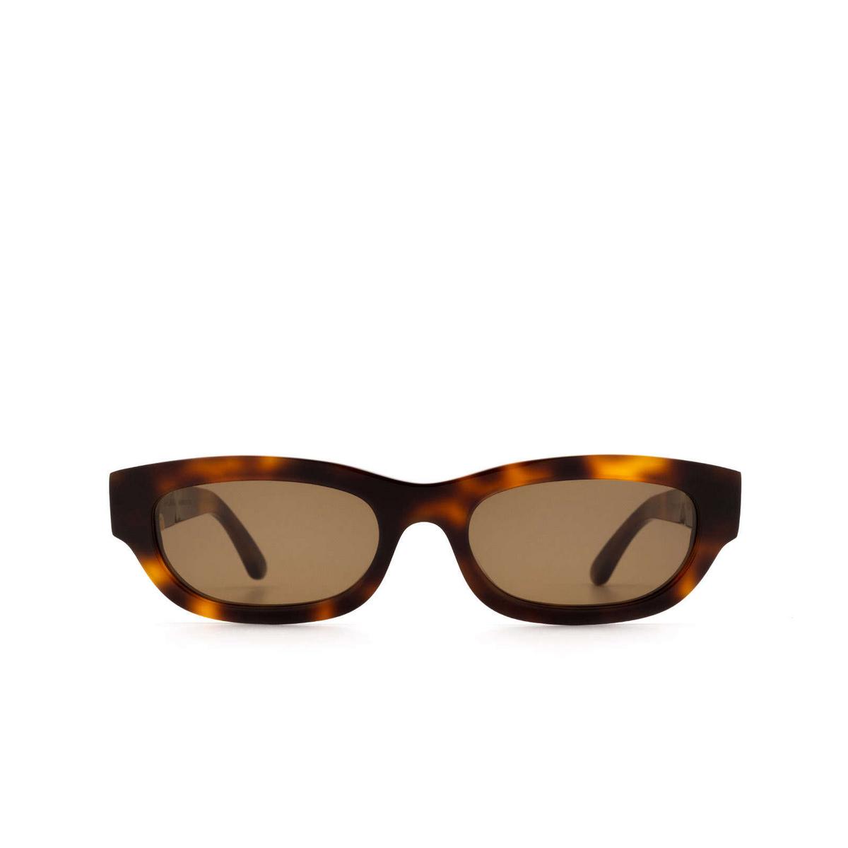 Huma® Rectangle Sunglasses: Tojo color Havana 00 - front view.
