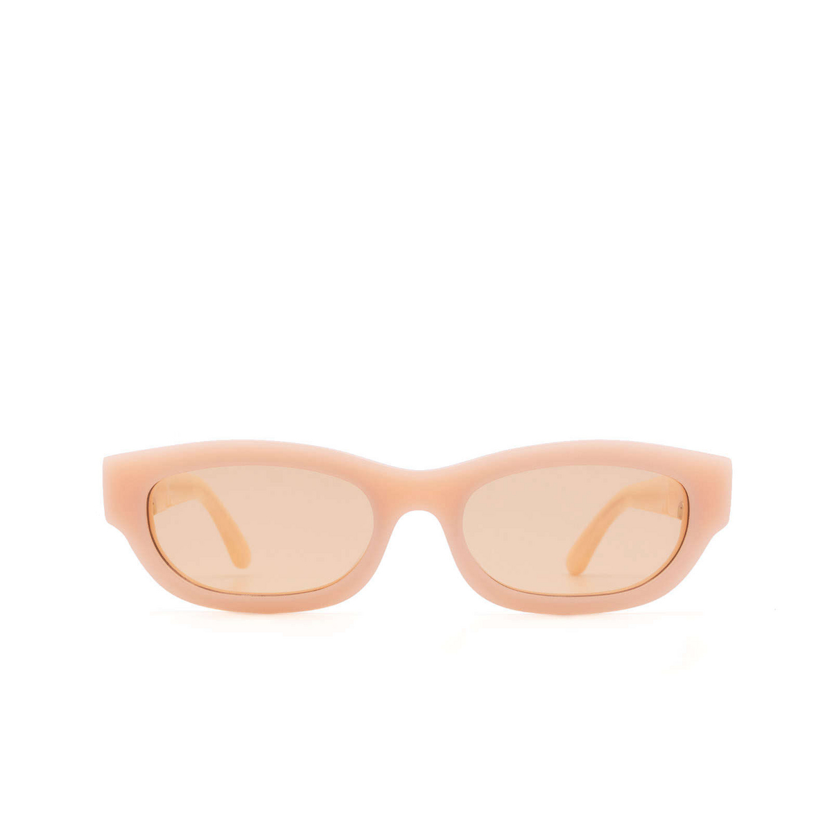 Huma® Rectangle Sunglasses: Tojo color Pink 11 - front view.