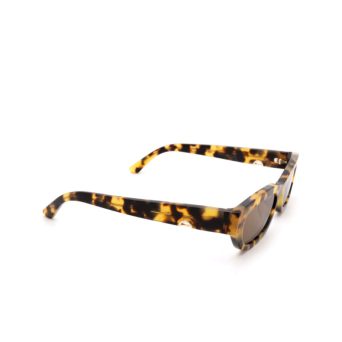 Huma® Rectangle Sunglasses: Tojo color Havana Leo 19.