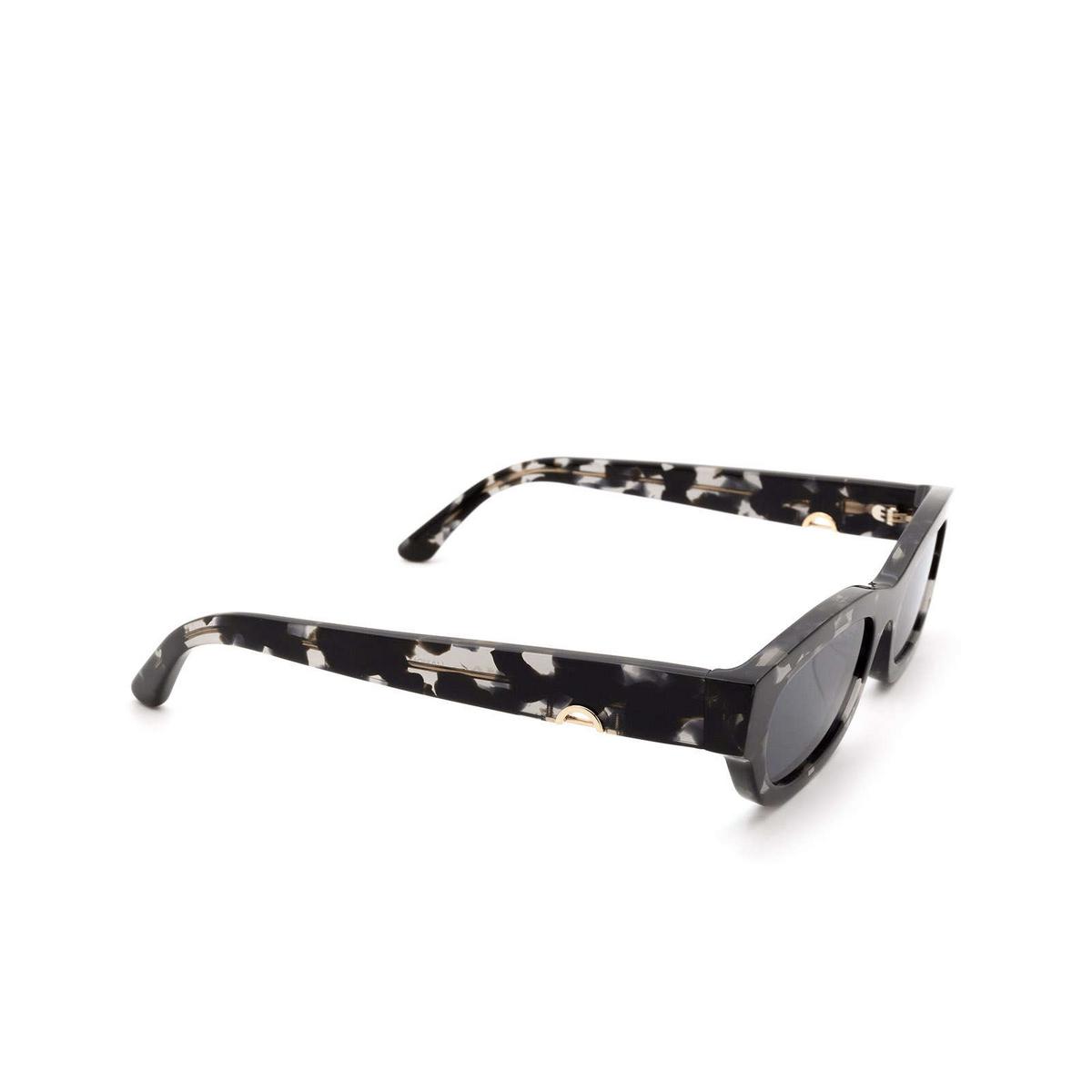 Huma® Rectangle Sunglasses: Tojo color Havana Mac 29 - three-quarters view.