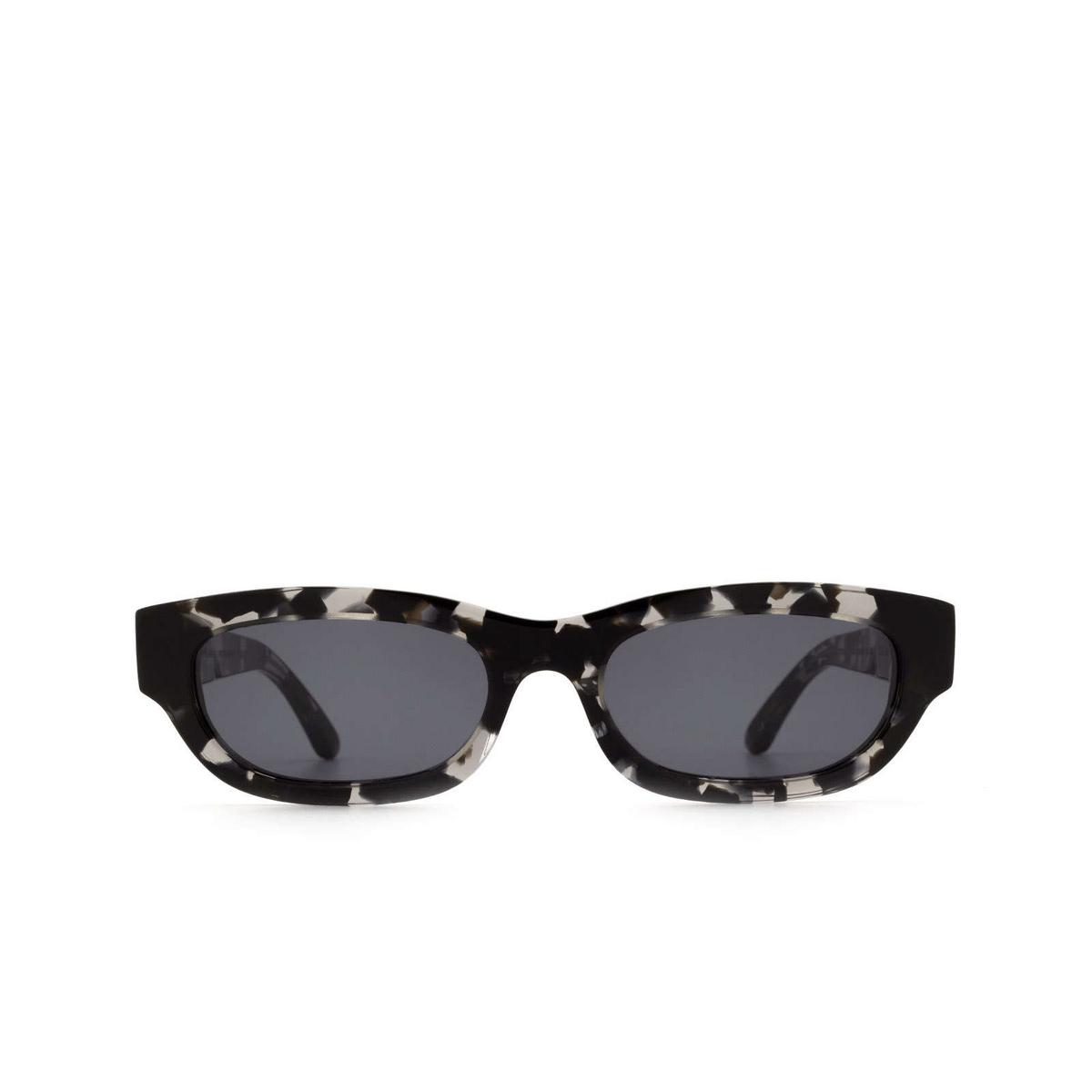 Huma® Rectangle Sunglasses: Tojo color Havana Mac 29 - front view.