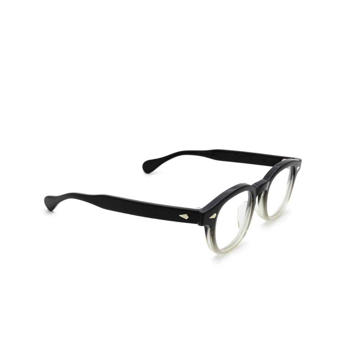 Julius Tart Optical® Square Eyeglasses: Ar color Black Fade.