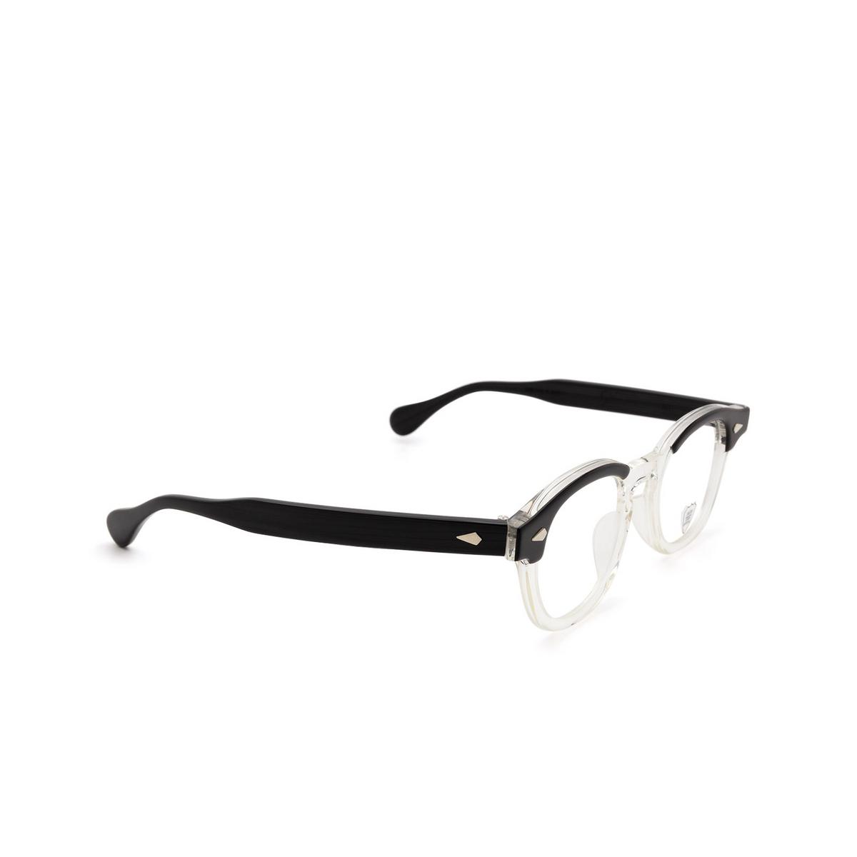 Julius Tart Optical® Square Eyeglasses: Ar color Black Wood.