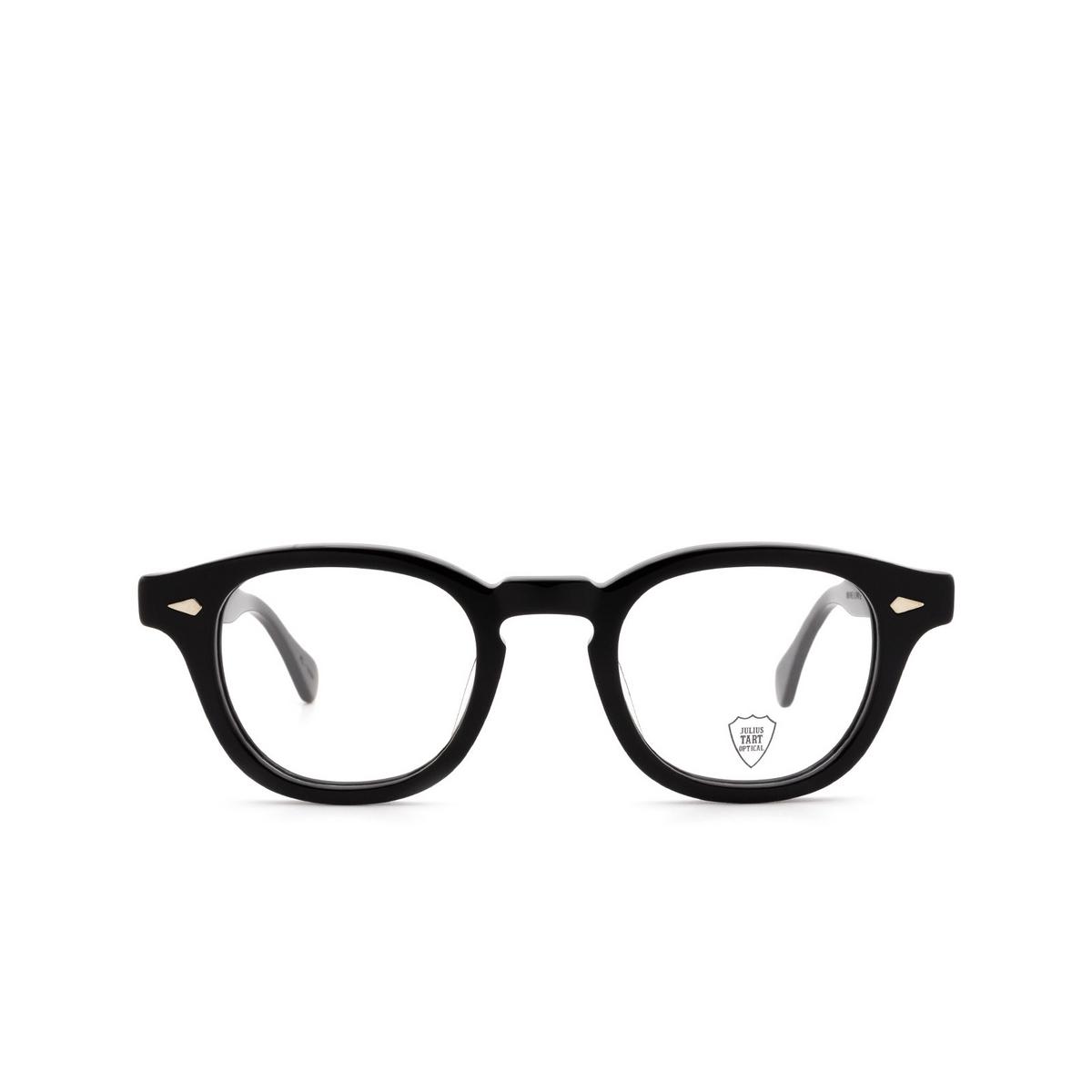 Julius Tart Optical® Square Eyeglasses: Ar color Black.