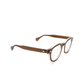 Julius Tart Optical® Square Eyeglasses: Ar color Brown Crystal Ii.