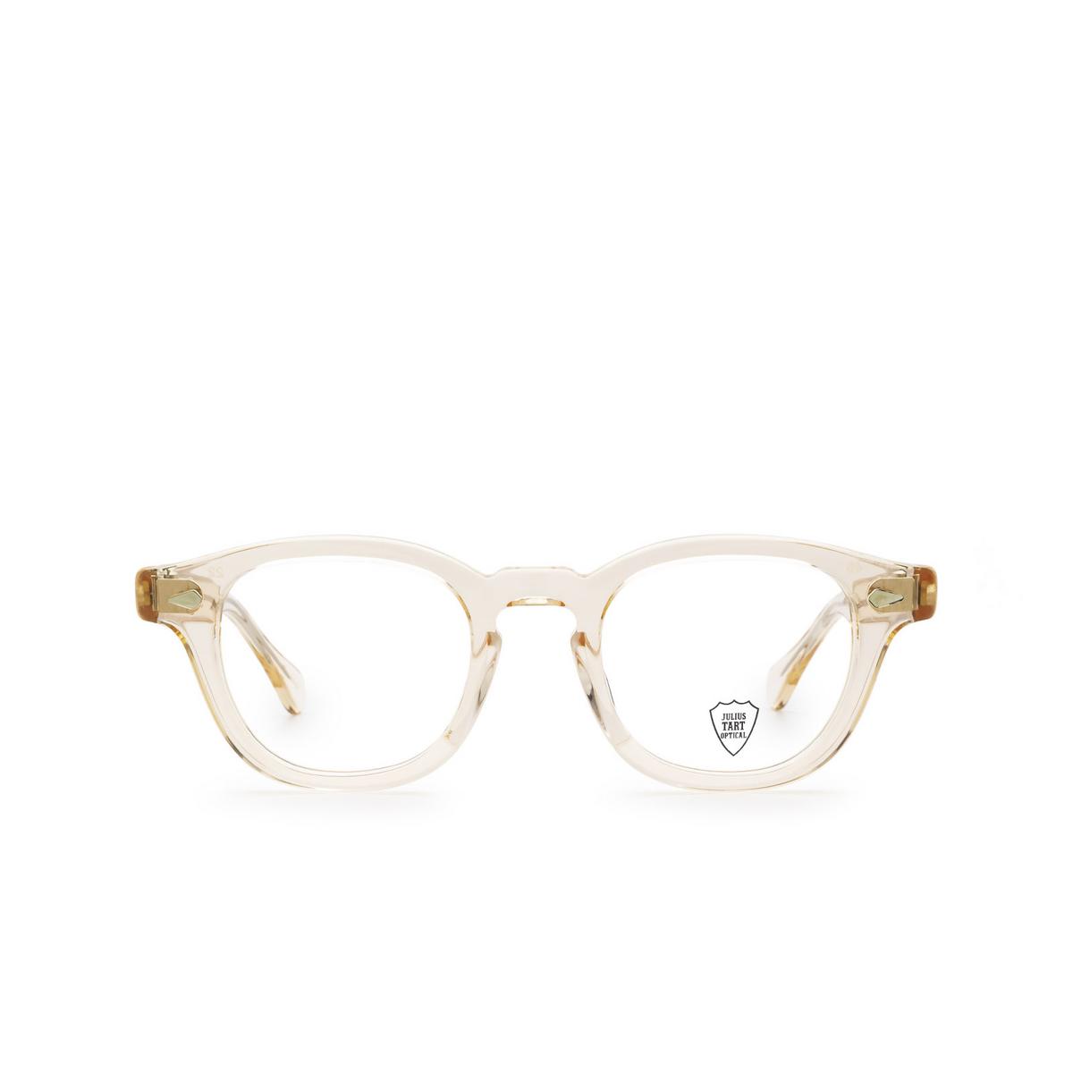 Julius Tart Optical® Square Eyeglasses: Ar color Flesh Pink - front view.