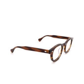 Julius Tart Optical® Square Eyeglasses: Ar color Light Brown.