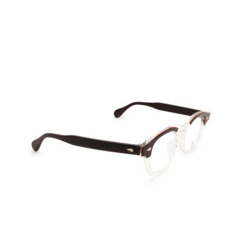 Julius Tart Optical® Square Eyeglasses: Ar color Red Wood.