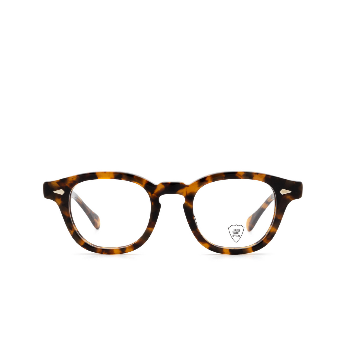 Julius Tart Optical® Square Eyeglasses: Ar color Tortoise.