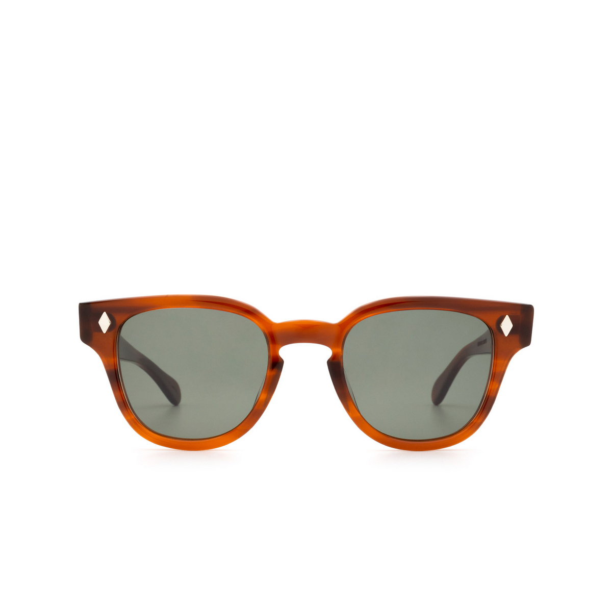 Julius Tart Optical® Square Sunglasses: Bryan Sun color Amber.