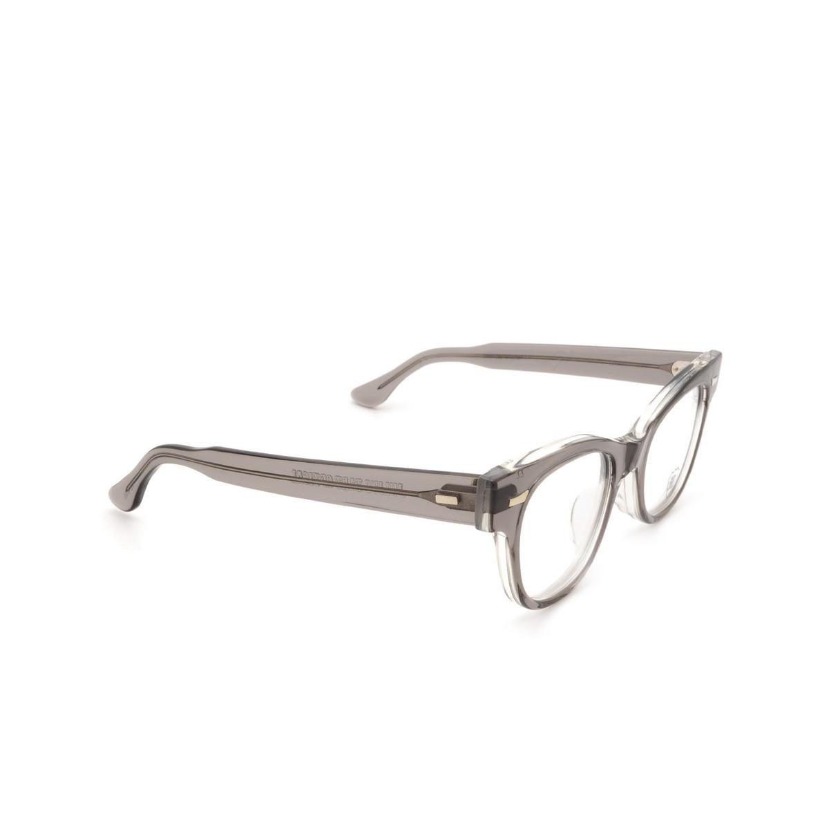 Julius Tart Optical® Cat-eye Eyeglasses: Countdown color Grey Crystal Ii.