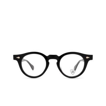 Julius Tart Optical® Round Eyeglasses: Harold color Black.