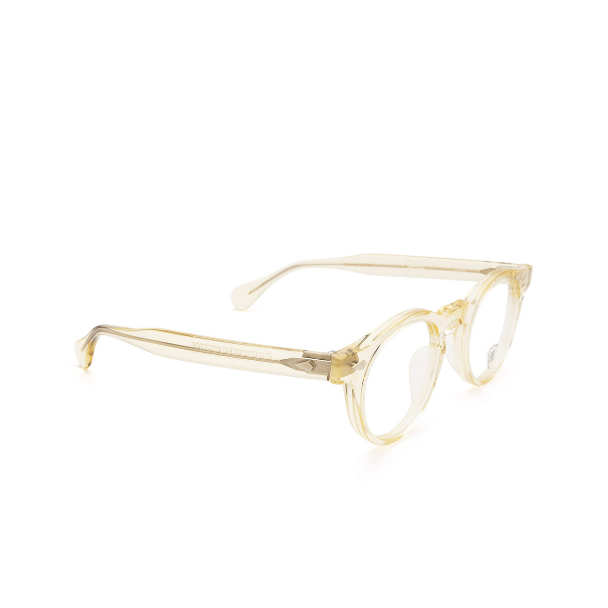 Julius Tart Optical® Round Eyeglasses: Harold color Champagne.